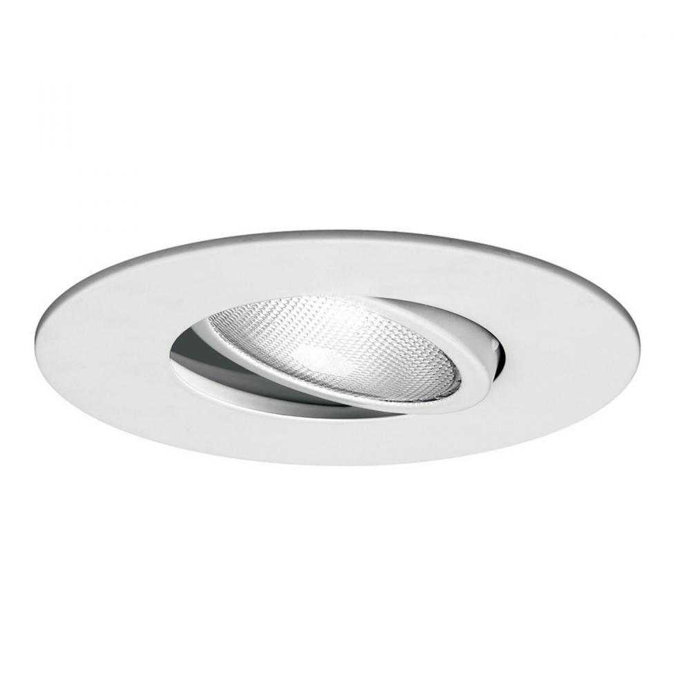 Recessed Directional Lighting Fixtures : One light white directional recessed dqvw hill